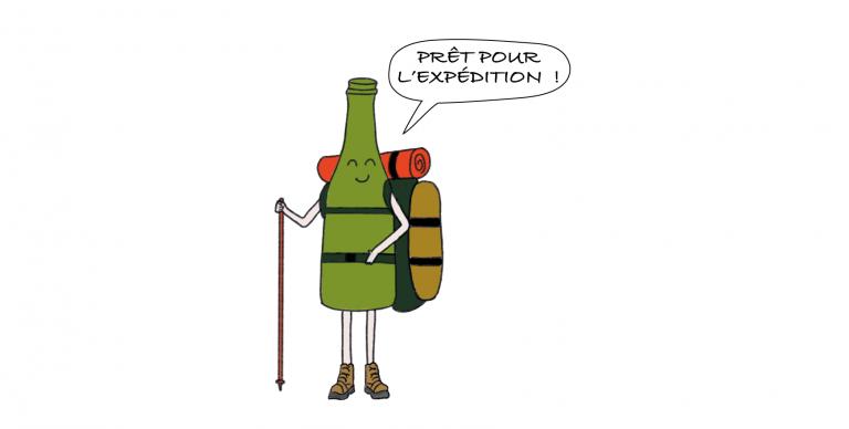 Liqueur expédition champagne